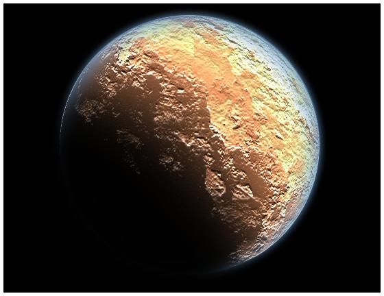 Пустинна планета