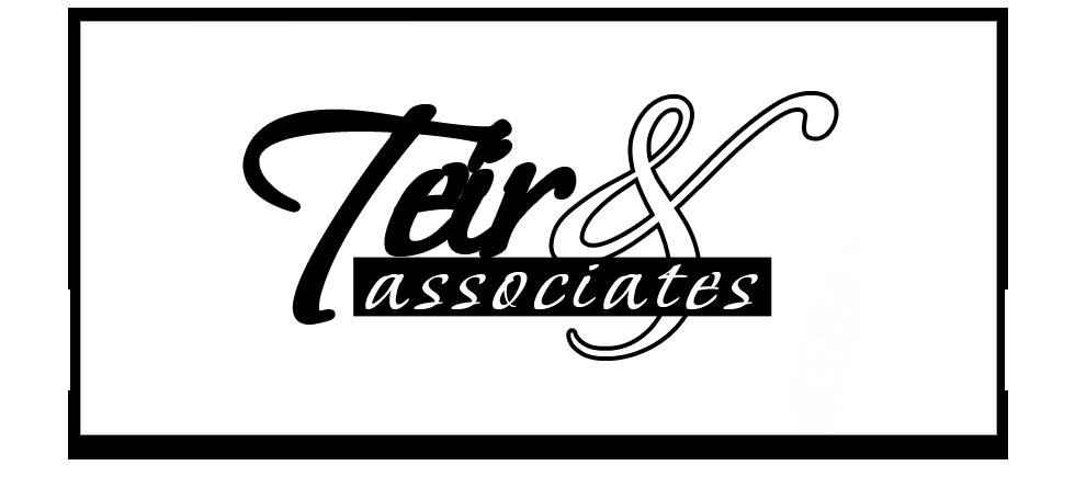 Teir & associates - logo-teir-big-bw