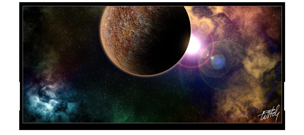 Дигитални илюстрации - misc-space-1