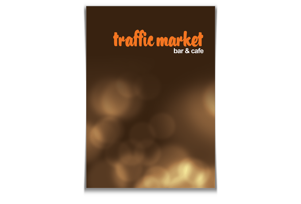 меню за Traffic Market bar & grill - print-traffic-market