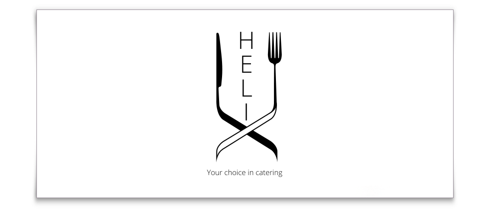 Helix catering - logo-helix-monochrome